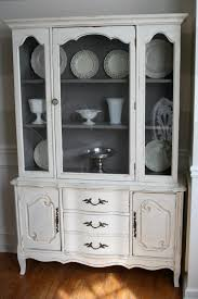 weathered pieces french china cabinet 300