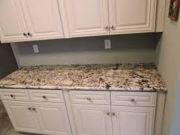 Cloud White Kitchen Cabinets by Decorating White Kitchen Cabinet With Bianco Antico Granite