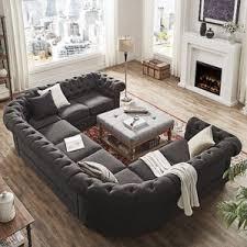 U Shaped Sofa Sectional by U Shaped Sectionals You U0027ll Love Wayfair