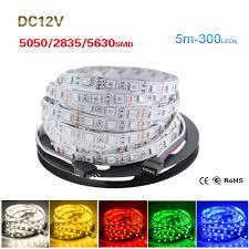 aliexpress com buy dc 12v rgb led strip 5050 5630 2835 smd non