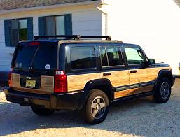 classic jeep convertible jeep commander with aftermarket wood package classic cars today