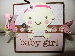 baby girl scrapbook album tiny treasures baby girl pop out scrapbook albums