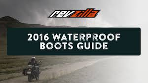 mens waterproof motorcycle riding boots 2016 waterproof motorcycle boots buying guide at revzilla com