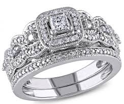 ben moss engagement sets diamore 14k white gold 0 50ctw diamond bridal ring set ben moss