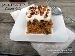 jack daniel u0027s carrot cake w heavenly frosting sumptuous spoonfuls