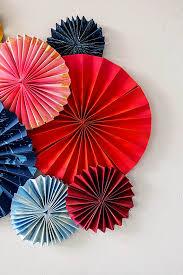 paper fans diy layered fan the house that lars built
