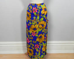 hawaiian pattern skirt hawaiian skirt etsy