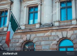 Flag That Is Green White And Red Detail Green White Red Flag On Stock Photo 700125925 Shutterstock