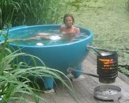 Wood Heated Bathtub T I N Y G O G O Doug And Erin U0027s Wood Fired Tub