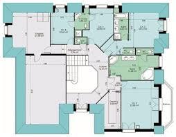 plan de maison a etage 5 chambres vaste maison familiale dé du plan de vaste maison familiale