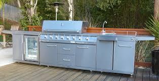 Outdoor Kitchen With Sink Outdoor Kitchen Bbq With Fridge Kitchen Decor Design Ideas