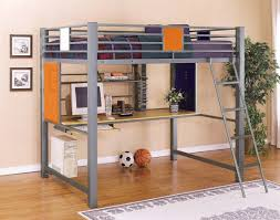 Study Bunk Bed Powell Trends Loft Study Bunk Bed Pw 517 117 At