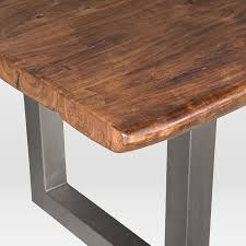live edge round table natural wood dining table furniture round modern sets scs1