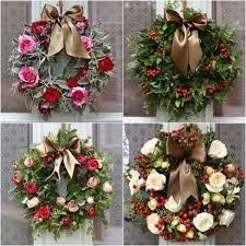 Christmas Wreath Decorations Wholesale Uk by Holiday Wreath Inspiration Flirty Fleurs The Florist Blog