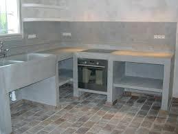 cuisine exterieure beton cuisine exterieure beton castelt construire cuisine exterieure