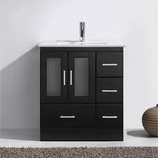 Bathroom Vanity Sets On Sale Virtu Usa Zola 30 Inch Single Bathroom Vanity Set With Faucet And