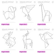 free coloring pages origami templates to print origami templates