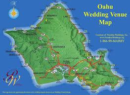 oahu wedding venues oahu wedding venue map oahu hawaii mappery