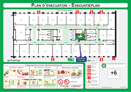 Fire Evacuation Plan Template For Office by Evacuatio Evacuation Plan