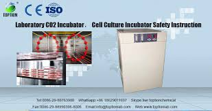 laboratory co2 incubator cell culture incubator safety instruction