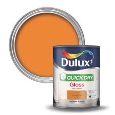 orange wood paint diy