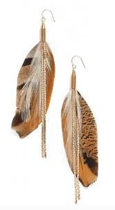 make feather earrings feather earrings make the statement lvbx magazine