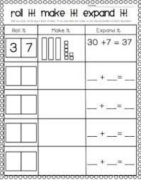 163 best place value images on pinterest math activities