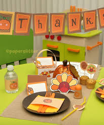 11 free printable thanksgiving table decorations