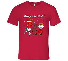 snoopy christmas shirts brown christmas graphic t shirt snoopy christmas