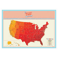 United States Of Anerica Map by Scratch Map Usa