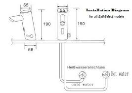 how to install a touchless installations for motion sensor faucets