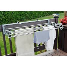 wall mounted drying rack for laundry balcony clothes drying u2013 best balcony design ideas latest