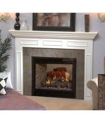 Propane Fireplace Logs by Multi Sided Fireplaces