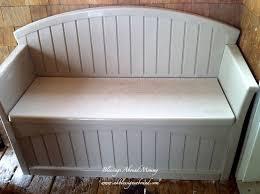 resin bench treenovation