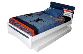 40 10 king single bed withtrundle suite white kids bedroom