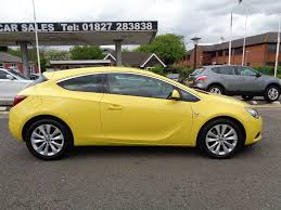 used vauxhall astra gtc coupe 1 4 i turbo 16v turbo sri 3dr start