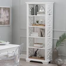 white 5 shelf bookcase belham living florence bookcase hayneedle