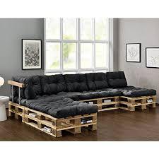 coussin pour canapé palette en casa 4x coussin de siège 6x coussin de dossier pour canapé