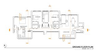 orange kitchen walls with dark cabinets usonian floor plans