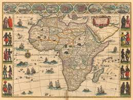 Africa Geography Map by Maps And Mapmaking