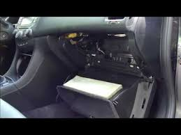 honda accord cabin air filter replacement how to replace cabin air filter honda accord years 2003 to 2007