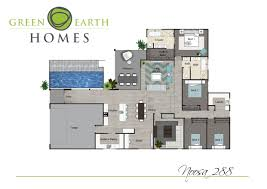 Earth Contact Homes Floor Plans Noosa 288