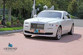 Legend Limousines Inc Rolls Royce Ghost Rolls Royce Rental