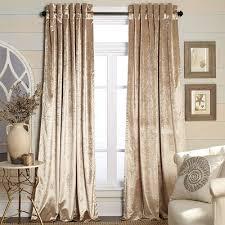 Gold Velvet Curtains Metallic Velvet Curtain Chagne Home Decor Home Decor
