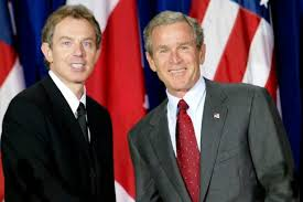 George Bush Cabinet 11 Revealing Private Notes Between Tony Blair And George W Bush