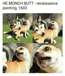 Butt Meme - he monch butt renaissance painting 1602 butt meme on awwmemes com