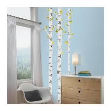 Peel And Stick Photo Wall Roommates Birch Tree Peel Stick Giant Wall Decals Babies