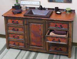 Rustic Wood Bathroom Vanity - rustic bathroom vanities 227