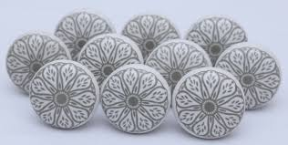 grey u0026 white ceramic knobs ceramic door knobs kitchen cabinet