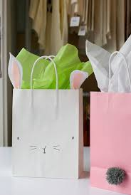 easter bags diy bunny easter bags store supply glue guns and dollar stores